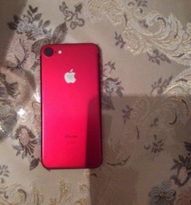 iPhone 7 red 128 г