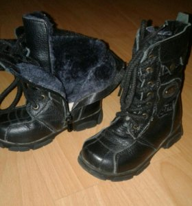 Ботинки зимние. Р-р 26
