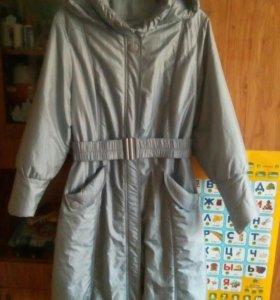 Пальто на синтепоне новое р52