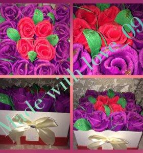 Розы в коробочке!