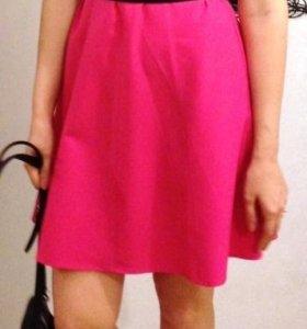 платье цвета фуксия 44 рр