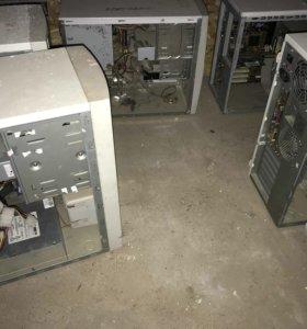 Мониторы,корпуса,принтеры на запчасти