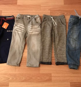 Набор из четырех брюк