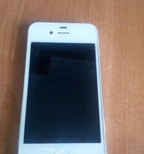 Продам Iphone 4 +чехол