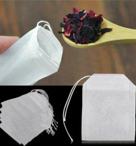 Фильтр-пакеты для заваривания чая 100 шт.