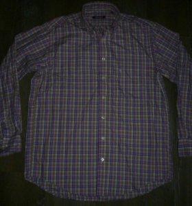 Рубашка Burlington L стильная в клетку
