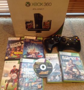 Xbox360 + кинект