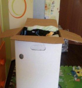 Вещи на сыночка коробка