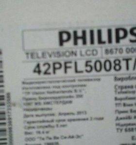 Телевизор PHILIPS 3D Smart LED ТВ с Ambilight