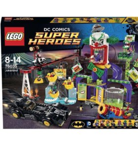 Конструктор LEGO Супергерои. Джокерленд