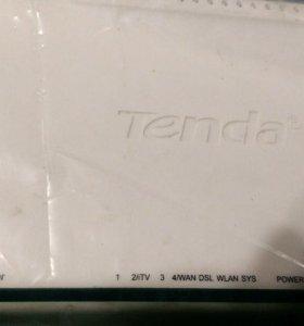 ADSL+ WIFI Router Tenda W3000.