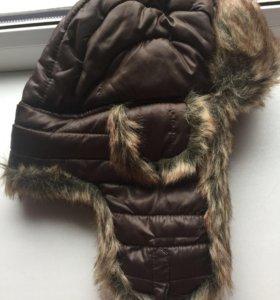 Новая зимняя шапка ушанка бренда Alessandro Frenza