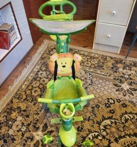 Велосипед-коляска детская