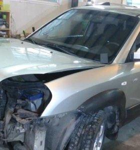 Запчасти от Hyundai Tucson Хендай Туксон