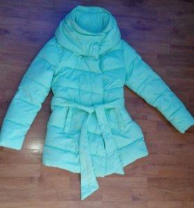 Утепленная удлиненная куртка