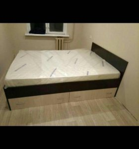 Новая кровать с ящиками