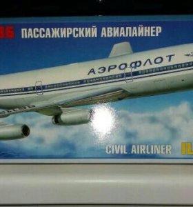Сборная модель пассажирского самолета