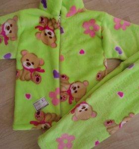 Новый Костюм-пижама флис