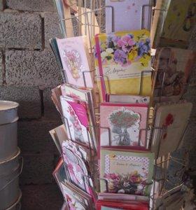 Открытки оптом имееться около 1000 открыток