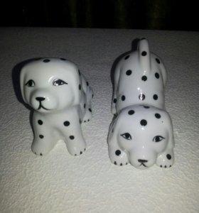 Собачки (фарфор)