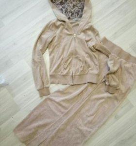 Домашний костюм велюровый