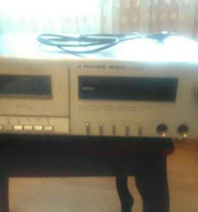 Продам кассетную деку Яузу 220