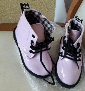 Новые сапожки ботинки