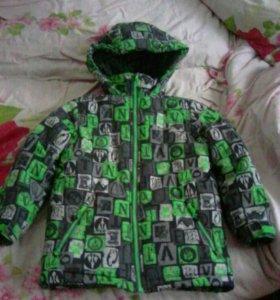 Куртка отвентуре 110размер
