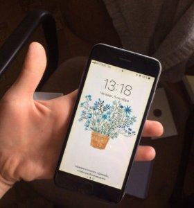 iPhone 6 64 gb серый в идеале