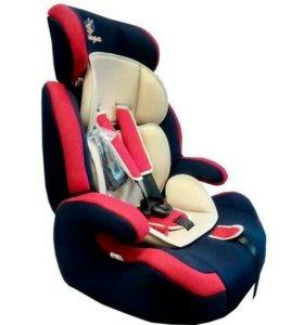 Автокресло Kenga LB515-SZF-Lux Красный (9-36 кг)