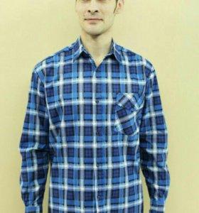 Рубашка мужская фланелевая.