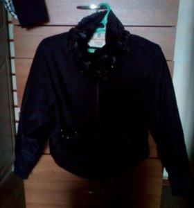 Женская укороченная куртка