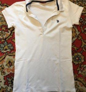 Женское поло US Polo Assn.