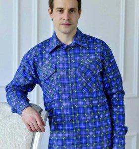 Рубашка мужская фланель.