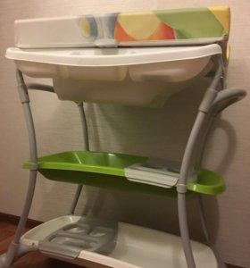Пеленальный стол с ванночкой Cam