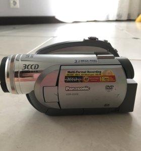 Видеокамера Panasonic 3CCD mega O.I.S.