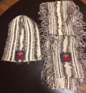 Набор шапка+шарф. Качество!