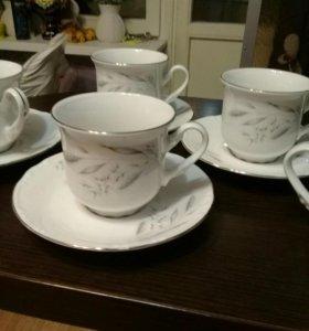 Чайный / кофейный фарфоровый набор