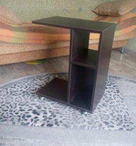 Новый Столик прикроватный подкатной