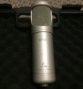 Студийный конденсаторный микрофон AV-Jefe ST 100