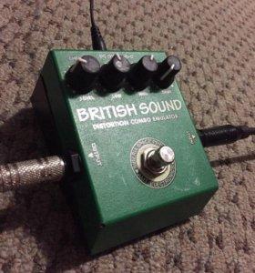 Педаль гитарный эффект AMT BritishSound distortion