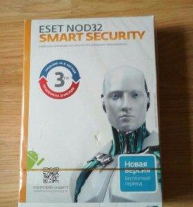 Новый антивирус eset nod32 smart security.