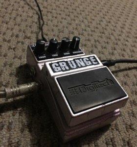 Педаль гитарный эффект digitech grunge distortion