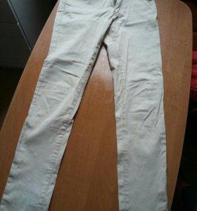 Брючки и юбочка карандаш джинсовые