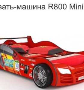 Кровать-машинка R800 Mini Red