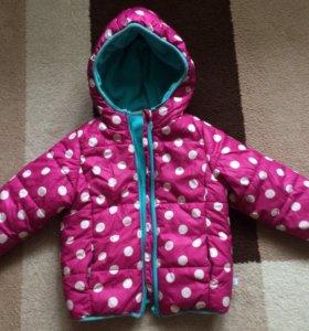Куртка детская 80-86 весна -Осень