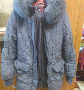 Зимняя куртка.размер 40-44