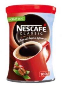 Кофе растворимый nescafe, classic