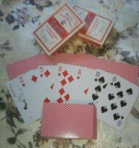 Покерные карты BEAR