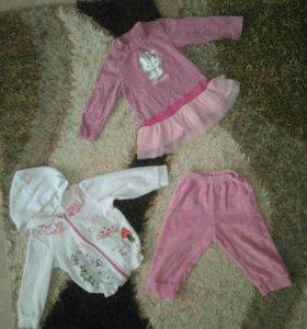 Вещи пакетом на девочку 1-2 года